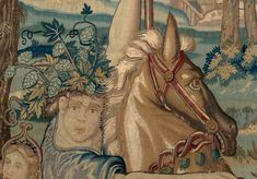 Assistant Conservator Giulia Chiostrini discusses the conservation of the Gluttony tapestry, one of the works on display in the exhibition Grand Design: Pieter Coecke van Aelst and Renaissance Tapestry. Tapestry Weaving, Tapestry Wall Hanging, Medieval Tapestry, Grand Designs, Gustav Klimt, Textile Art, Needlepoint, Renaissance, Needlework