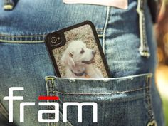 frām - the picture frame case for your iPhone by Tavis & Ed @ IDEATIVE, via #Kickstarter.