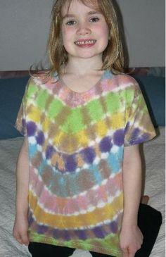 Dragon Skin Tie Dye Children's Tee by GenerationsDyeWorks for $9.99