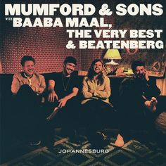 """Mumford and Sons - Johannesburg EP on Limited Edition 10"""" Vinyl June 17 2016"""