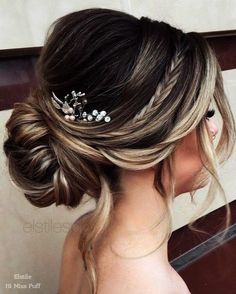Long Wedding Hairstyles from Elstile \/