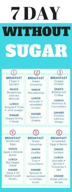 7 day #detox menu #plan