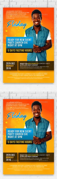 Grace Church Flyer Churches, Flyer template and Graphics - conference flyer template