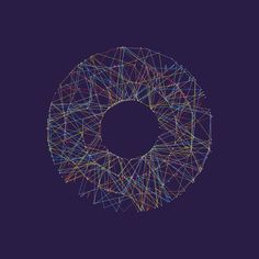 Generative Splines is an algorithm that creates random points on a circular…