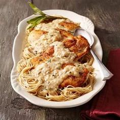 chicken dinners, chicken breasts, chicken recipes, mustard chicken, pasta recipes