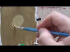 Μαθήματα αγιογραφίας άσκηση στο σάρκωμα το προσώπου - YouTube