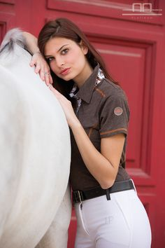 AA Platinum Collection S/S16: Elisa Short Sleeve Lady Bamboo Polo