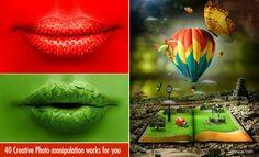 40 Creative Photo Manipulation works done by Adobe Photoshop. Read full article: http://webneel.com/30-creative-and-incredible-photo-manipulation-works-done-adobe-photoshop | more http://webneel.com/photo-manipulations | Follow us www.pinterest.com/webneel