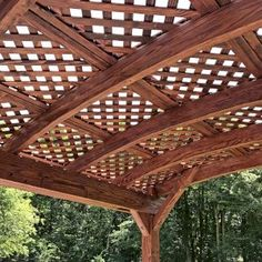 Shop online for Pergolas at Forever Redwood. Hand-crafted Arched Pergola Kits available in custom sizes, shapes, and wood grades. Hot Tub Garden, Hot Tub Backyard, Dream Garden, Backyard Patio, Garage Pergola, Building A Pergola, Pergola Kits, Pergola Ideas, Patio Ideas