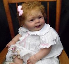 Stunning Realistic Reborn Toddler Girl-Cookie by Donna Rubert-No Reserve