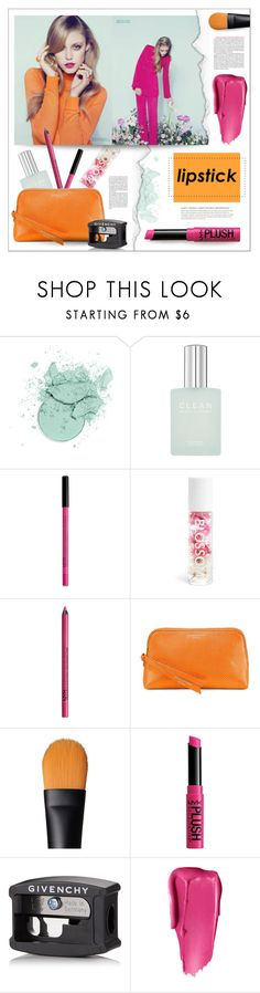 """""""pucker up: spring lips"""" by jesuisunlapin ❤ liked on Polyvore featuring beauty, Fresh Laundry, NYX, Blossom, Aspinal of London, NARS Cosmetics, Givenchy, Beauty, makeup and SpringStyle"""