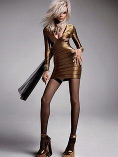 Hilary Blonde: Las modelos Binx Walton y Daphne Groeneveld protagonizan la última campaña de Tom Ford primavera-verano 2015