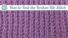 Knitting Tutorial: How to Knit the Stockinette Triangle Stitch. Click link to learn this stitch:  http://su.pr/8ncNVJ ‎#yarn #knitting