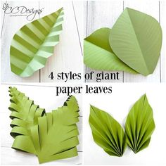 Large Paper Flowers and Giant Paper Rose Templates with Tutorials, DIY Paper Flower Wall Wedding Backdrop, Christmas Gift Giant paper leaves. Large Paper Flower Template, Large Paper Flowers, Paper Flower Wall, Diy Flowers, Giant Flowers, How To Make Paper Flowers, Hanging Paper Flowers, Giant Paper Flower Diy, Flower Petal Template