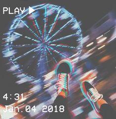 M O O N V E I N S 1 0 1 #vhs #aesthetic #blur #ferriswheel #glitch