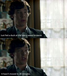 Texts From 221b Baker Street: Face!