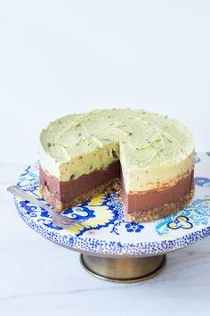 Chocolate Chip Pepermunt Taart