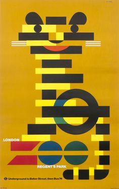 London Zoo Regent's Park by Games, Abram | Shop original vintage #posters online: www.internationalposter.com