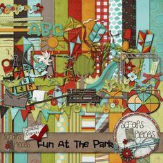 Grace Blossoms 4U:  Fun At The Park - $5.99