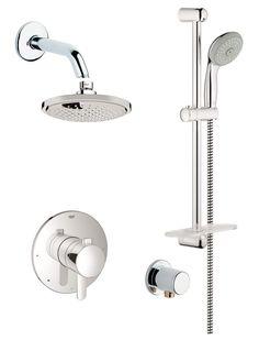 grohe control valvesrain shower