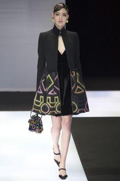 Emporio Armani Autumn/Winter 2016 Ready-To-Wear Collection | British Vogue