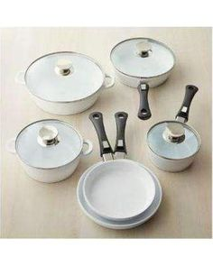 Berndes Vario Click Pearl Ceramic Induction 9 Piece Set -632109W