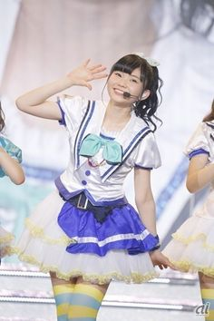 Additional photos from Aqours' first live from Dengeki G's! Cute Girls, Cool Girl, Cool Poses, Love Live, Cute Costumes, Themed Outfits, Japanese Artists, Picture Collection, Anime Manga