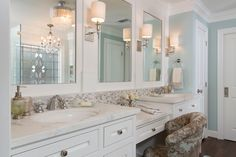 Inspired Dressing Table With Mirror vogue Houston Traditional Bathroom Innovative Designs with brushed nickel built in mirror calacutta dressing table elegant framed mirror Rohl wall sconces