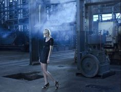 model, High Fashion, editorial, Industrail, Photo shoot, warehouse, abandon factory, gown, fashion gown, Fashion Industrail