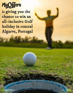 MyOffers is giving you the chance to win an all-inclusive Golf holiday in central Algarve, Portugal. UK Only - Win A Holiday, Holiday Travel, Holiday Competitions, Golf Holidays, Weekend Breaks, All Inclusive, Romantic Getaway, Algarve, Portugal