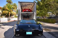 An enclosed #auto carrier provides maximum security for your #vehicle during #transportation. It is the preferred way to #ship your #car for higher dollar vehicles and classic #cars. Visit our website to contact us.