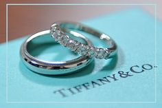 Tiffany, argollas de matrimonio