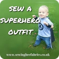 Sewing Bee Fabrics Tutorial Make Your Own Superhero Outfit So what inspired this superhero outfit? Quilting Tips, Quilting Tutorials, Craft Tutorials, Sewing Tutorials, Sewing Projects, Sewing Patterns, Bee Fabric, Fabric Scraps, Sewing For Kids