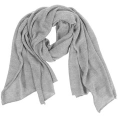 Samantha Holmes Alpaca Travel Wrap - Dove Grey found on Polyvore featuring accessories, scarves, grey, alpaca scarves, shawl scarves, evening wrap shawl, grey shawl and bamboo scarves