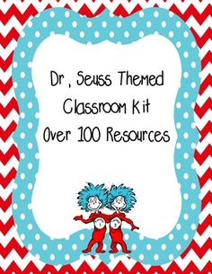 This product includes both my classroom decor kit and Teacher binder.to see a preview of each please go to the links belowClassroom kithttps://www.teacherspayteachers.com/Product/Dr-Seuss-classroom-decor-kit-1802490Teacher Binder:https://www.teacherspayteachers.com/Product/Dr-Seuss-Classroom-teacher-binder-Fully-EDITABLE-1836033Purchase them together and save $3