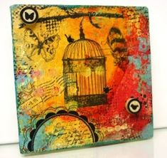 Art Journals and Mixed Media by TJ819