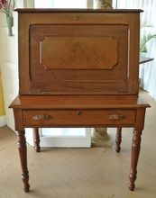 Fall Front Writing Desk, American 19th Century