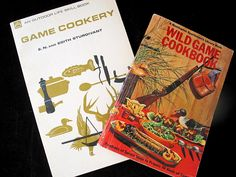 Wild Game Cookbook Set  Game Cookery Cookbooks  Wild Game