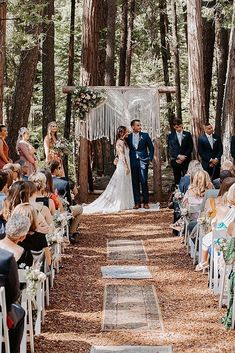 Boho combines a variety of details from the style of hippie, vintage and many ethnic elements. The best boho wedding trends 2020 are collected here. Wedding Ceremony Arch, Elope Wedding, Wedding Bride, Bohemian Wedding Theme, Boho Wedding Dress, Wedding Trends, Wedding Styles, Boho Decor, Macrame