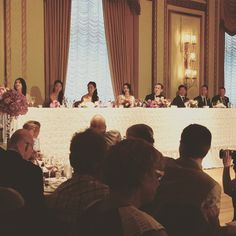 cool vancouver wedding The listening intently to the MC telling a touching story Vancouver Wedding Venue, Wedding Venues, Vintage Centerpieces, Touching Stories, Wedding Decorations, Wedding Reception Venues, Wedding Places, Wedding Decor, Wedding Locations