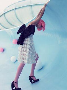 Natalia Vodianova byCraig McDean forW Magazine,