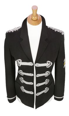 DIY Military inspired jacket