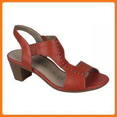 Remonte Women's Dorndorf R9252-33 Candy Red Leather Sandal 7 (*Partner Link)