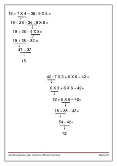 Apostila matemática em pdf Big Data Technologies, Printable Math Worksheets, Math Fractions, Study Tips, Algebra, Kids Education, Mathematics, Language, Classroom