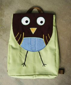 cute idea for a back pack!