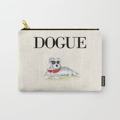 Dogue Carry-All Pouch  by Ulas Uygun Creative on Society6 @society6 #society6 #products #design #shop #shopping #buy #sale #fun #gift #idea #accessory #accessories #home #decor #style #fashion #art #digital #contemporary #cool #hip #awesome #awesomeness #chic #fashion #style #dog #pets #funny #humor #bag #accessory #accessories