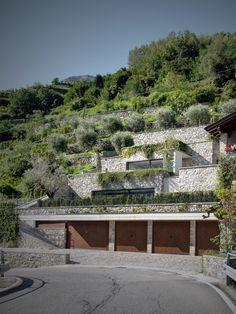 Modernes Haus im Weinberg