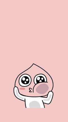 Gameboy Iphone, Kakao Friends, Lock Screen Wallpaper, Chibi, Korea, Peach, Snoopy, Cartoon, Cute