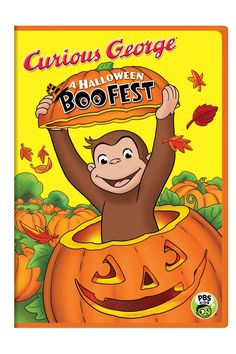 Curious George: A Halloween Boo Fest. this brand-new, first-ever Curious George Halloween special airs Monday, October on PBS KIDS, but the DVD is available in stores now. It's a full-length movie with 3 new songs! Halloween Boo Fest, Halloween Night, Baby Halloween, Halloween Treats, Family Halloween, Spooky Halloween, Halloween Costumes, Halloween Cartoons, Halloween 2018