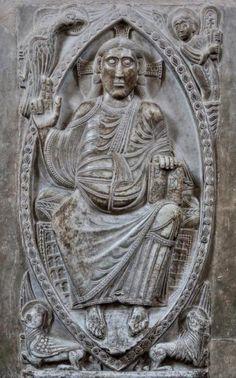 Relieve románico de Bernard Gilduin - Deambulatorio de la Basílica de San Saturnino de Toulouse